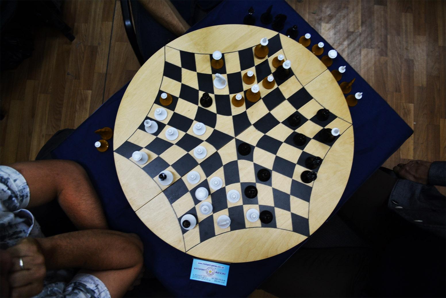 бланк для записи шахматных ходов