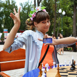 Внучка шахматного чемпиона