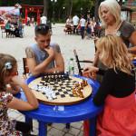 Русские шахматы в парке